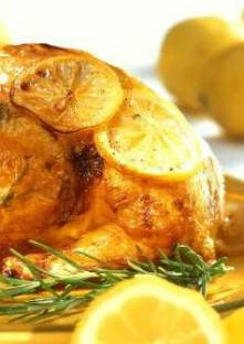photo de poulet au citron